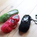 【終了】ワークショップ@yamagiwa金沢(5/14)「ネット編みのフットカバー」お申し込み