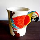 ★ 3D立体 アニマル マグカップ / Macaw(オウム) ★