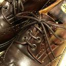 トリッカーズのカントリー用/焦茶 靴ひも 70cm 110cm 120cm/Tricker's Shoelace