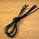 黒/ブラック/丸紐/ロウ引き/レギュラー