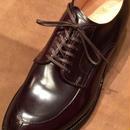 オールデン 靴紐 6穴用におすすめです  丸紐&平紐 Vチップ モディファイドラストの靴に