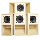 "4set ""MINI SOUND SYSTEM""  Back-loaded [PLANE]"