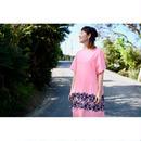 ミナペルホネン rosy ドレス -pink-