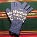 アルパカ100% 手編みてぶくろ 指付き 子供サイズ