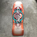 Bulldog Skates Fish Deck sunburst orange (Wes Humpstonサイン入り)
