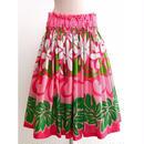 パウスカート フラダンス衣装 75cm丈 ピンク PAUB0392