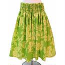 パウスカート フラダンス衣装 70cm/75cm丈 黄緑 PAUA0385