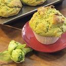 ふきのとう&やまくるみ   Petasites japonicus& Japanise Walnuts Muffin Vegan