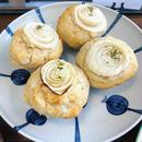 新玉ねぎ&白ワイン Onion & White wine Muffin Vegan