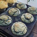 ブルーコーンブレッド  Blue Cornbread Muffin Vegan
