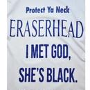 Black Weirdos /  ERASER Tee (White)