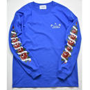 Black Weirdos / ROSE Long Sleeve Tee  (Blue)