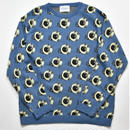 Black Weirdos / EYE-ball Knit  (Blue)