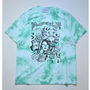 Black Weirdos / ANGERS TieDye Tee  (Green)