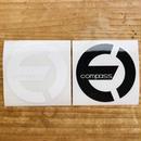 compass ロゴ カッティングステッカー