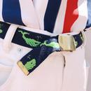Green whale gacha belt