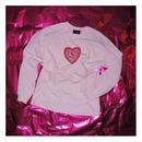 恋するHEARTちゃんlongT (pink)
