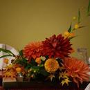 アレンジメントフラワー 花器(青竹使用)