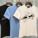 人気新品✩DSQUARED2 ディースクエアードプリント半袖Tシャツ 男性用トップス