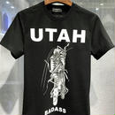 超人気✩DSQUARED2 ディースクエアードプリント半袖Tシャツ 男性用トップス