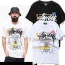 新入荷 ステューシー/stussy人気Tシャツ 半袖テイーシャツ 男女兼用