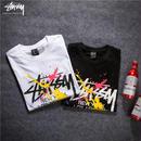 人気ステューシーTシャツ 半袖  STUSSY 男女兼用  2色選!
