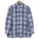 USED Ralph Lauren ラルフローレン パッチワークシャツ M