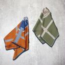 silk touch scene scarf