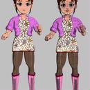 3Dモデルデータ「メイシャン」LightWave3D