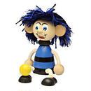 チェコおすわり人形サッカー少年ブルーブラック LUMAZ+ブランコ