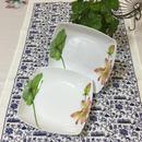 【香港☆ メラミン食器】  皿(ボウル型・大) /  BOUDOIR