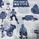 【香港☆G.O.D.】Hong Kong Districts cotton scarf  /  香港柄のストール