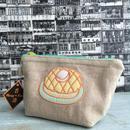 【香港☆Food Embroidery Bag】波蘿油 / ポーチ