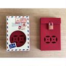 【香港☆PACIFIC COFFEE】キュート♡信箱カードケース /  Mailbox Business Card Case