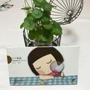【香港☆Chocolate Rain】 緑緑無窮 / ポストカードbook type