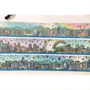 Island skyline☆港島岸【其一文創 / 香港設計】 マスキングテープ725