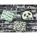 【香港☆Panda】かわいいパンダのパスケース /  3種類 トートバッグとお揃い!!