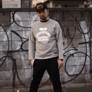 【SKREWZONE】COLLEGE CUT SWEAT