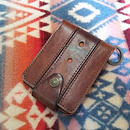 【SALE】 Nasngwam. OLD LEATHER WALLET (PLAIN) brown』