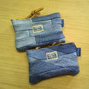 Nasngwam.×EARLY MORNING 『FASTENER POUCH Sサイズ (DENIM) inlay&rug』