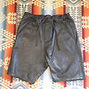【SALE】 Nasngwam. 『ASSIST LEATHER SHORTS』