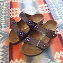 EARLY MORNING 『BEADS SANDAL(ARIZONA brown) 36サイズ』