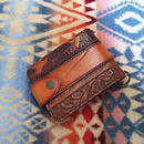 【SALE】 Nasngwam. OLD LEATHER WALLET (PATTERN)A』