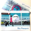 スカイパスポート クリアファイル(2枚入り)