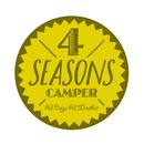 4 SEASONS CAMPER ステッカー(1枚)