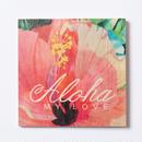 SoHa LIVING/Aloha My Love メッセージロゴプレート看板