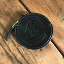 NOCARE/NC OG LOGO LEATHER COIN CASE_BLACK