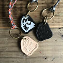 NOCARE/NC OG LOGO LEATHER KEY CHAIN