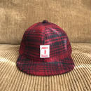 5656WORKINGS/RP UNIFORM CAP_REDxBLACK CHECK