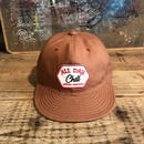 Brownie/ALL DAY CHILL CANVAS CAP_BROWN